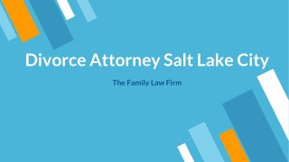 Divorce Attorney/Lawyer Salt Lake City