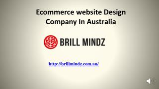 Best Ecommerce website design company in australia