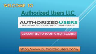 How Does an Authorized User Account Work?