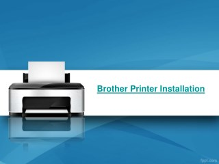 Brother Printer Installation without CD