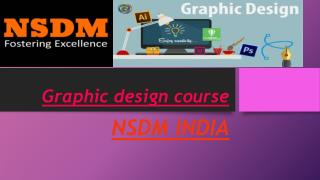 GRAPHIC DESIGN COURSE BY NSDM INDIA IN PUNE CITY