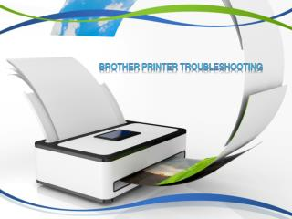 Brother Printers Troubleshooting