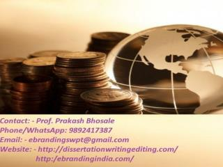 eBranding India Consultancy in Pune is the Best Way to Get a Project Finance Funding
