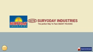 NEW SURYODAY INDUSTRIES