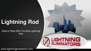 Integrated Lightning Protection Systems With Lightning Rod
