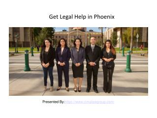Find DUI Attorney for Legal Help in Phoenix