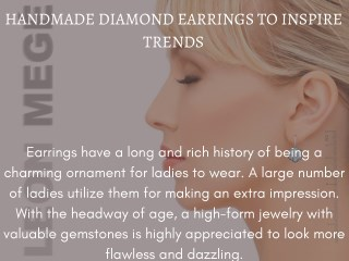 Beautifully Crafted Handmade Diamond Jewelery At Leonmege