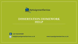 DISSERTATION AND ASSIGNMENT WRING HELP IN UK-