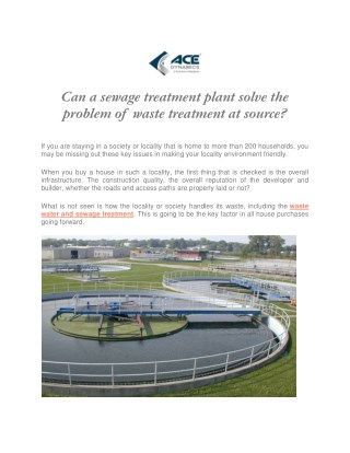 Call us @ 8333032165 for Water Treatment Plant