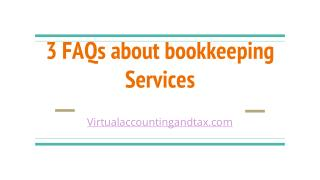 Bookkeeping services | virtual accounting and tax