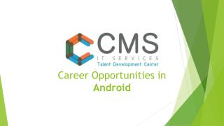 Career Opportunities in Android