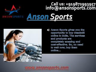 Best Quality Fitness Equipment Stores in India
