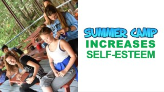 Summer Camp Increases Self-Esteem
