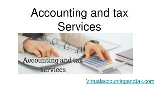 Accounting and tax services | virtual