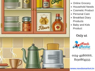 Online Grocery Store Gurgaon - Needs Market