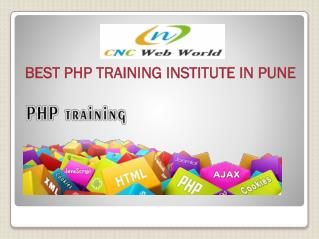 Best PHP Training Institute in Pune