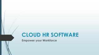 Cloud Payroll Software