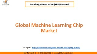 Machine Learning Chip Market growth and market trends