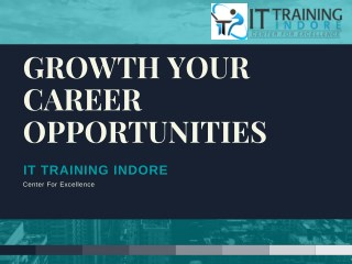 Grow Your Career With Us – IT Training Indore