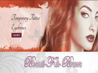 Best Natural Looking Eyebrows |Beauti-Full-Brows