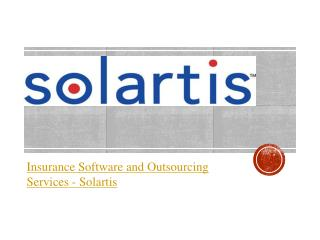 Insurance Software and Outsourcing Services - Solartis