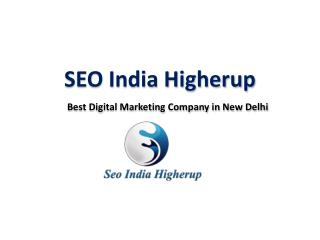 Top Seo & Website Designing Company in Delhi- SEO India Higherup