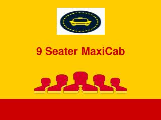 9 Seater Maxicab