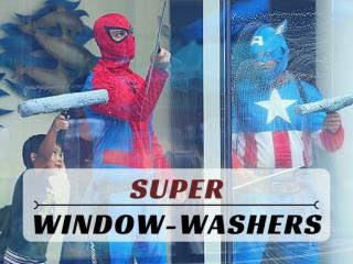 Super window-washers