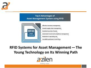 RFID Systems for Asset Management – The Young Technology on Its Winning Path