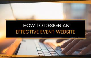 Tips for Designing an Effective Event Website