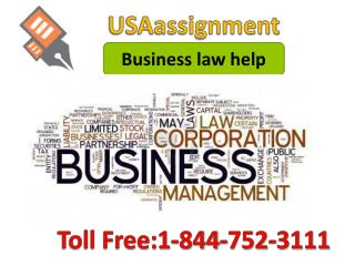 Business law help Toll Free:1-844-752-3111