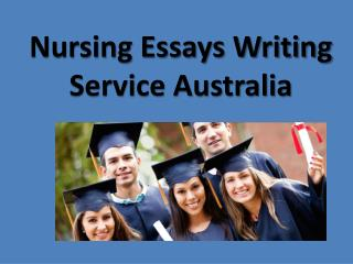 Nursing Essays Writing service Australia