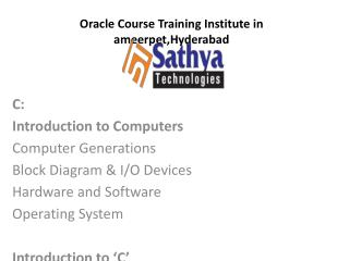 Best C programming institute in Hyderabad,