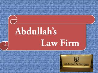 Abdullah's Law Firm