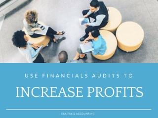 Use Financials Audits to increase Profits