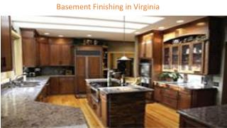 Basement Finishing in Virginia