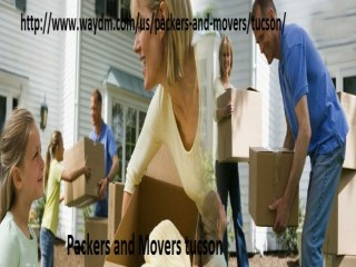 Packers and Movers  tucson