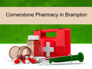 Cornerstone Pharmacy in Brampton