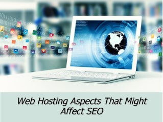 Web hosting aspects that might affect SEO