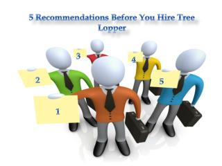 How to choose Tree Lopper