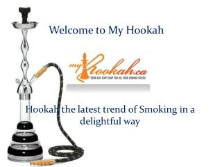 Hookah Accessories and Khalil Mamoon hookah presented by myhookah.ca