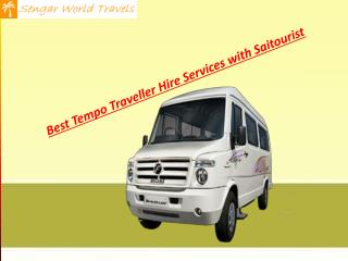 Tempo traveller hire in delhi