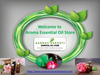 Best and Pure Essential Oil Supplier