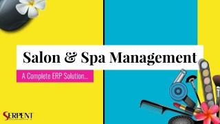 Salon & Spa Management-A Complete ERP Solution