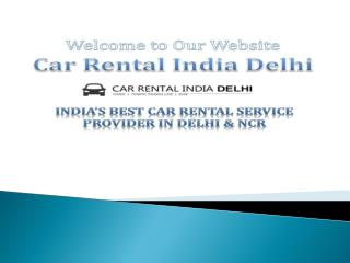 Car rental companies in Delhi
