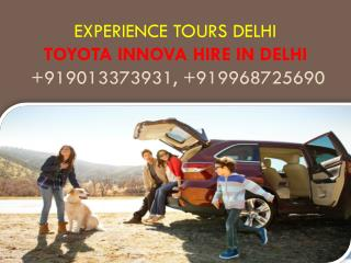 Luxury Tourist Car Rent in Delhi