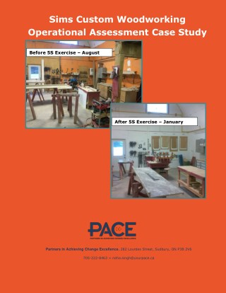 Sims Custom Woodworking Operational Assessment Case Study