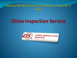 Supplier Evaluation in China