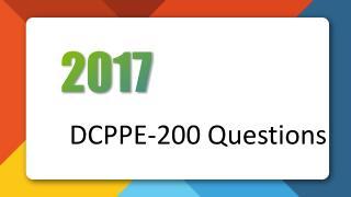 DCPPE-200 Dell PowerEdge Professional Exam Killtest Practice Exam