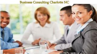 Business Consulting Charlotte NC